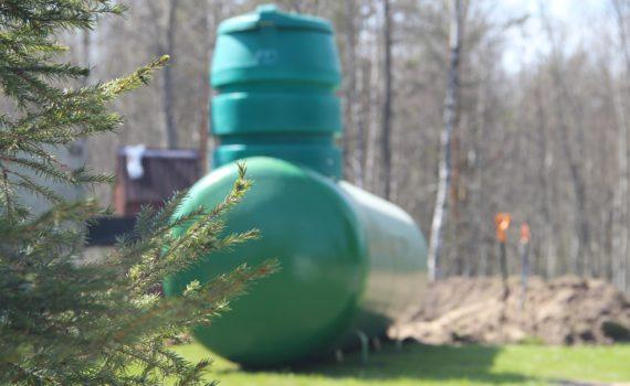 установка газгольдера на участке повсем требованиям