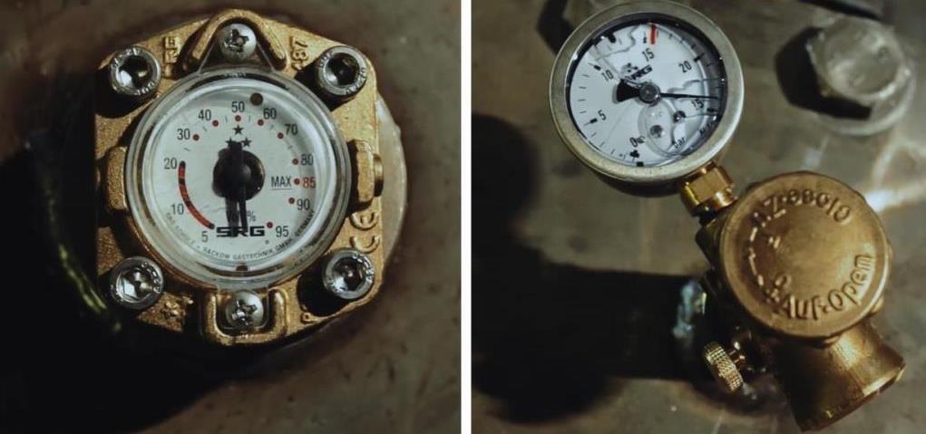 гидро и пневмоиспытания газгольдера на производстве