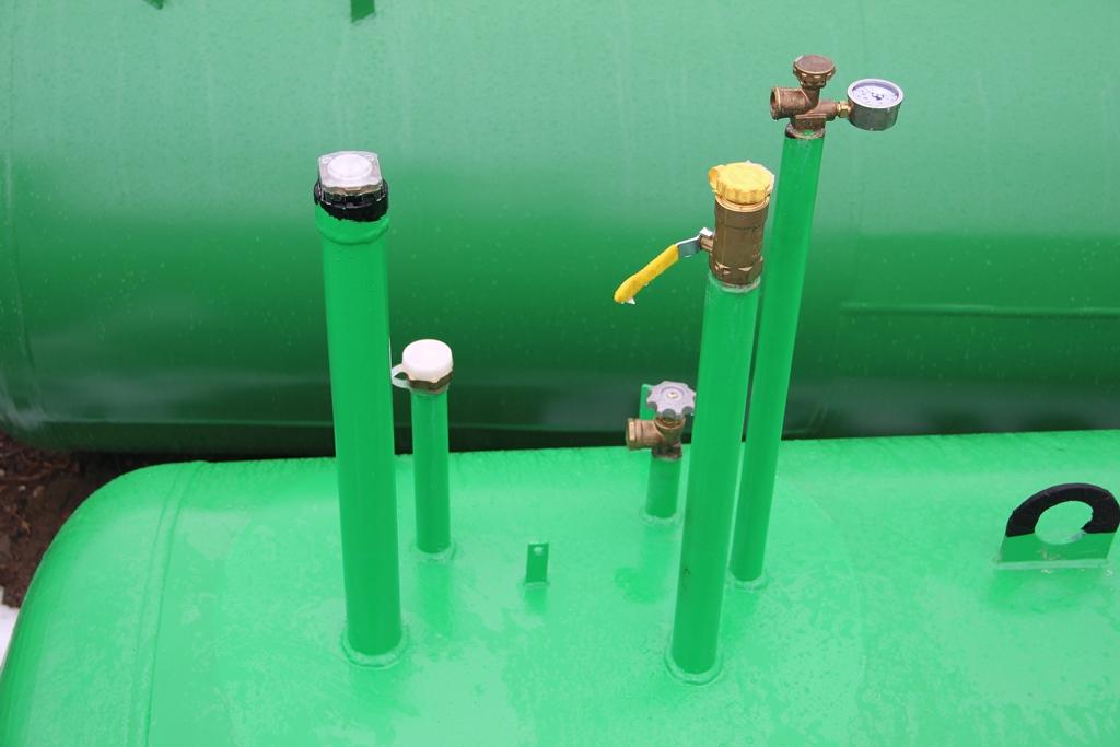 установка газгольдера Спецгаз