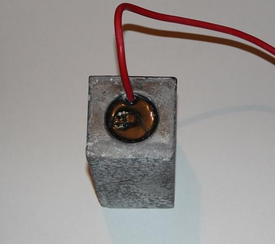 магниевый анод со стальным сердечником